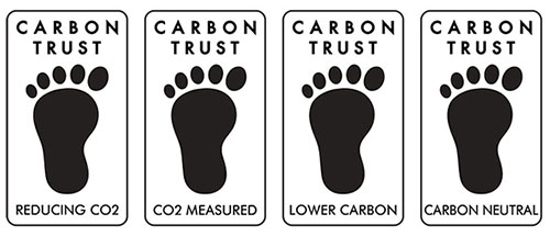 Carbon footprint labels