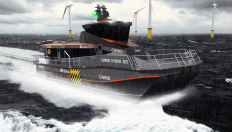 CWind Limited - hybrid diesel/electric Surface Effect Ship (SES) CTV