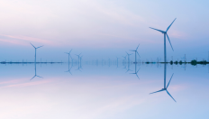 Offshore wind farm China