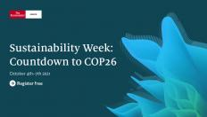 Sustainability Week: Countdown to COP26