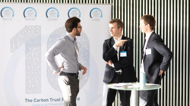 Discussion at Carbon Trust event