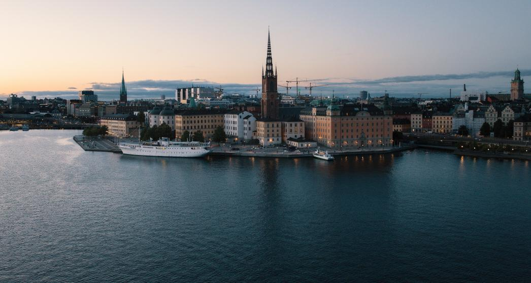 Stockholm buildings across the water