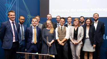Carbon Trust team at Offshore Wind event