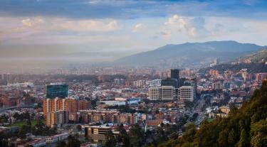 City scape of Colombia