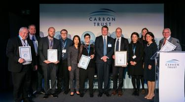 Winners of the Carbon Trust Assurance Awards 2019