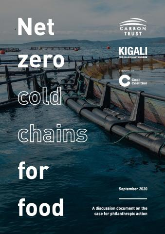 Net zero cold chain for food