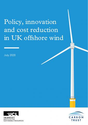 FCO policy, innovation and cost reduction in UK offshore wind