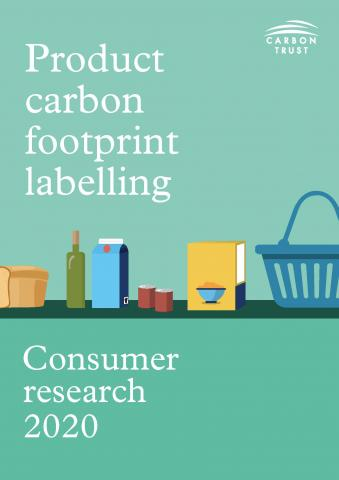 Product carbon footprint labelling