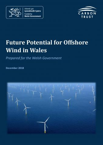 Future potential for Offshore Wind in Wales