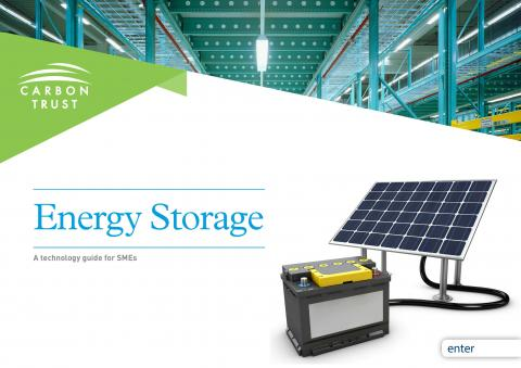 Energy storage guide cover