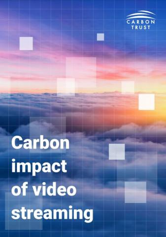 Carbon Impact of video streaming cover