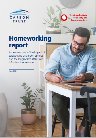 Homeworking report cover