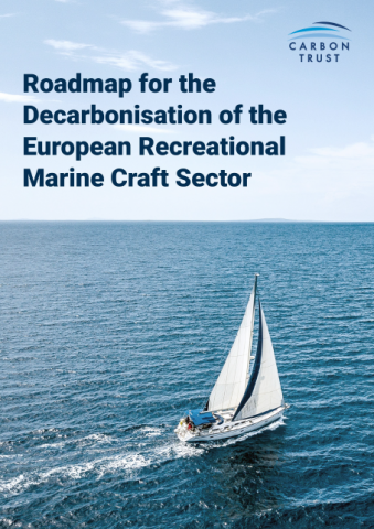 Roadmap for the decarbonisation....report cover