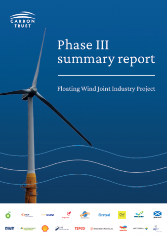 Phase 3 summary report cover