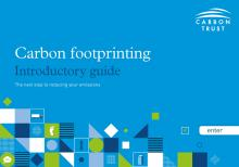 Carbon footprinting guide cover english