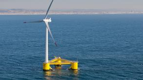 Floating offshore wind turbine
