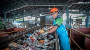 FIFCO recycling plant in San Carlos