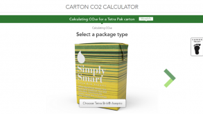 Tetra Pak carbon calculator