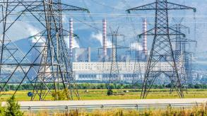 Electric Pylons and combined heat, power plant, electrical station